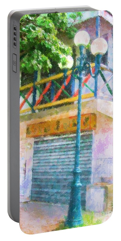 St. Martin Portable Battery Charger featuring the photograph Cest La Vie by Debbi Granruth
