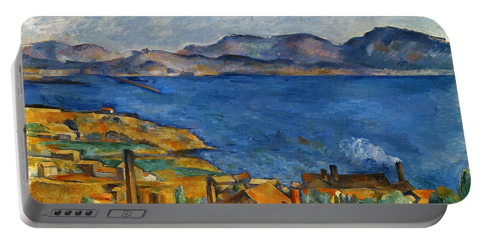 1890 Portable Battery Charger featuring the photograph Cezanne Marseilles 1886-90 by Granger