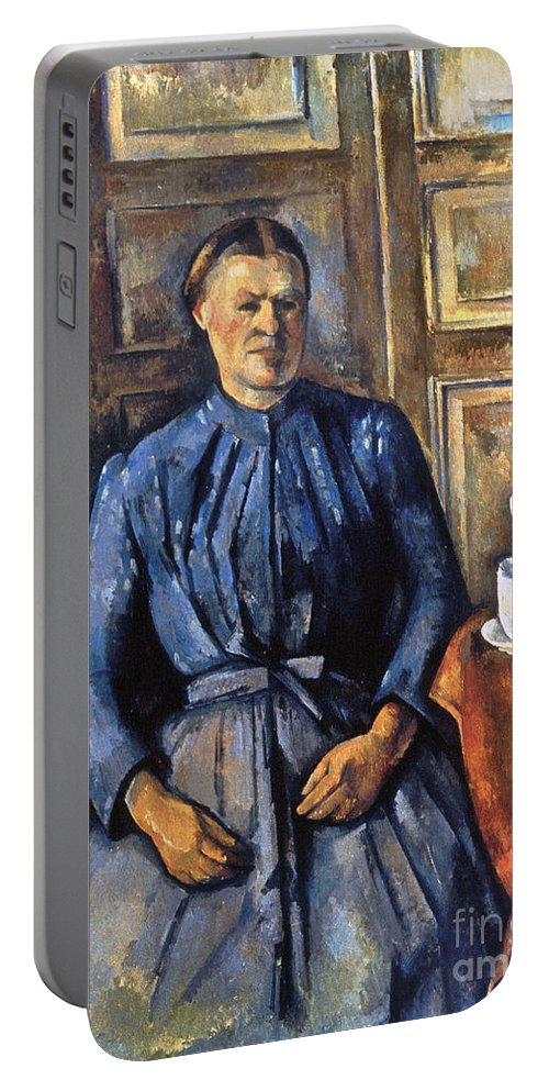 1895 Portable Battery Charger featuring the photograph Cezanne: Woman, 1890-95 by Granger