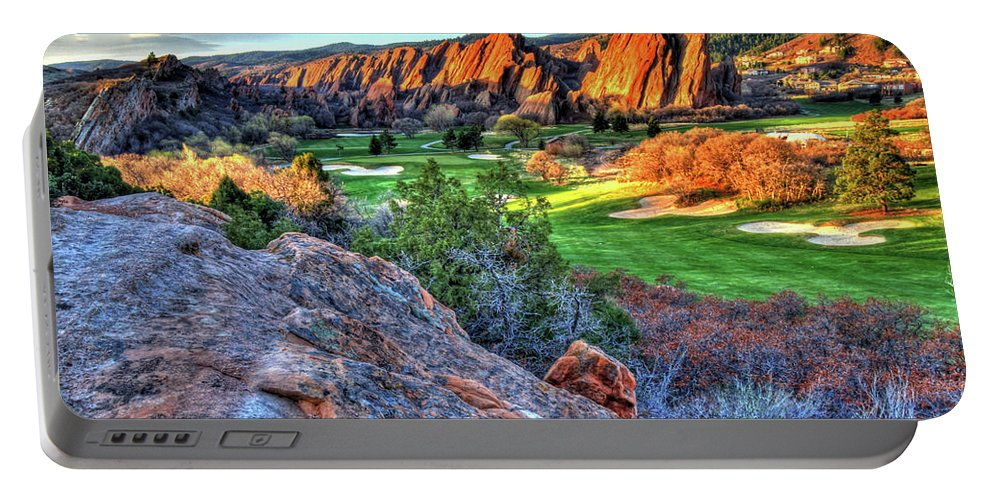 Challenge Portable Battery Charger featuring the photograph Challenge by Scott Mahon