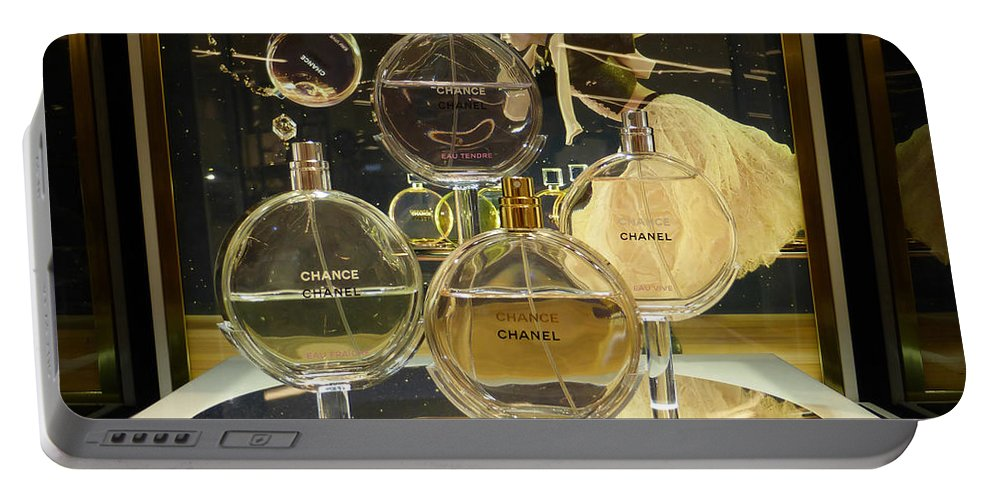 Chanels Portable Battery Charger featuring the photograph Chanel Chance by To-Tam Gerwe