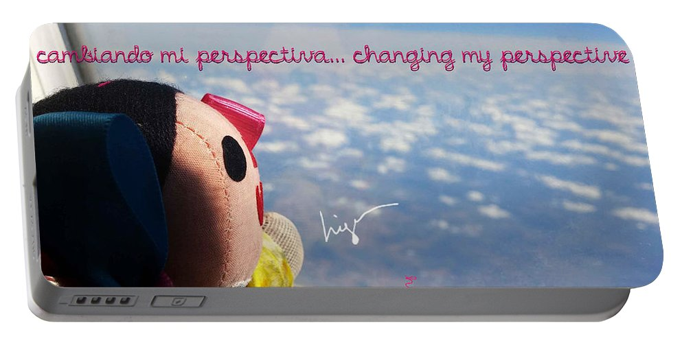 La Mexicanita On Usa Portable Battery Charger featuring the photograph Changing My Perspective by Higo Gabarron