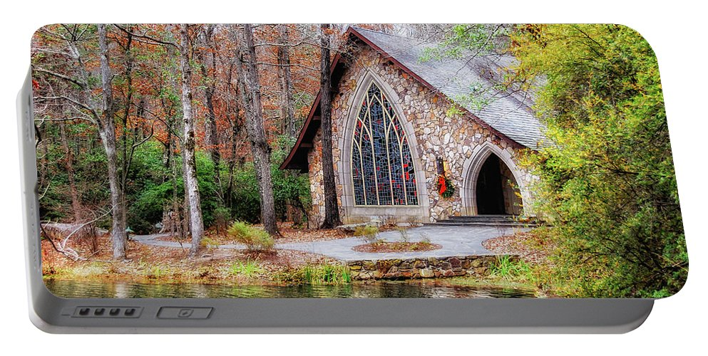 Callaway Gardens Portable Battery Charger featuring the photograph Chapel At Callaway by Randy Clegg