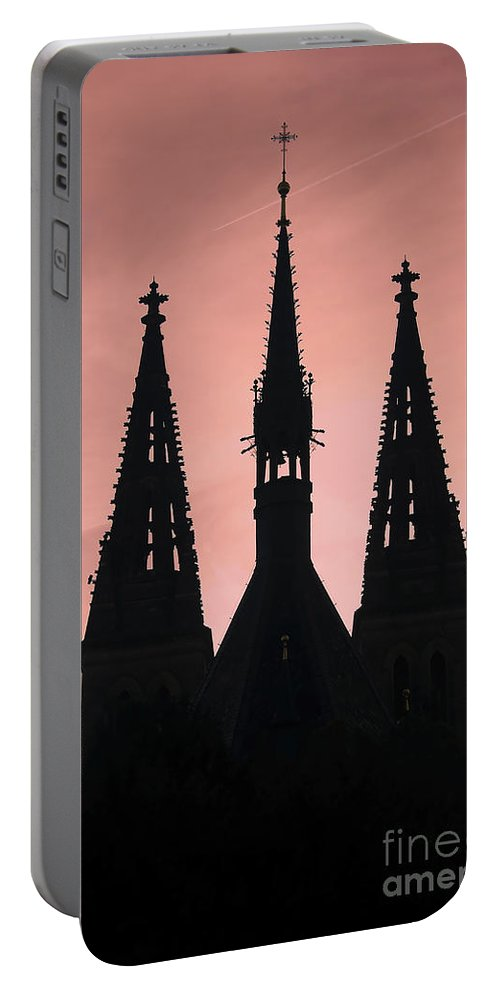 Church Portable Battery Charger featuring the photograph Chapter Church Of St Peter And Paul by Michal Boubin
