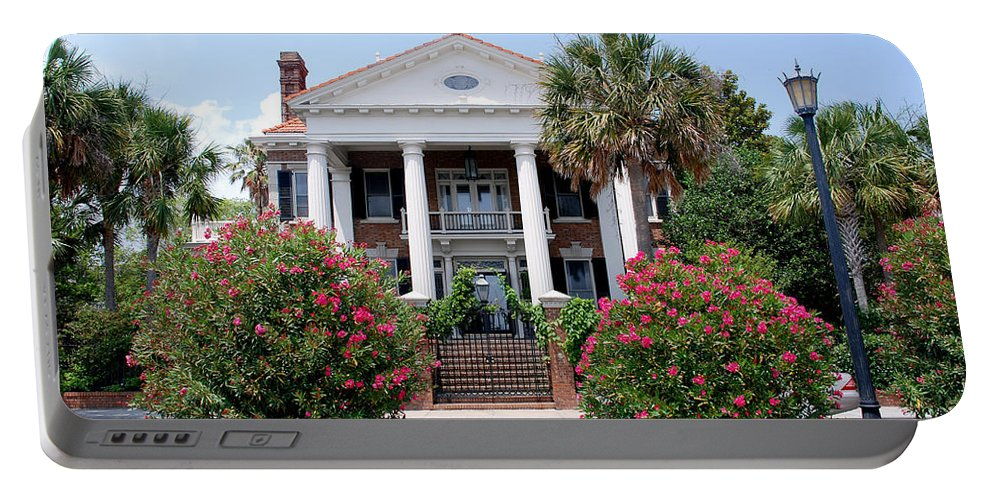 Photography Portable Battery Charger featuring the photograph Charleston At His Best by Susanne Van Hulst