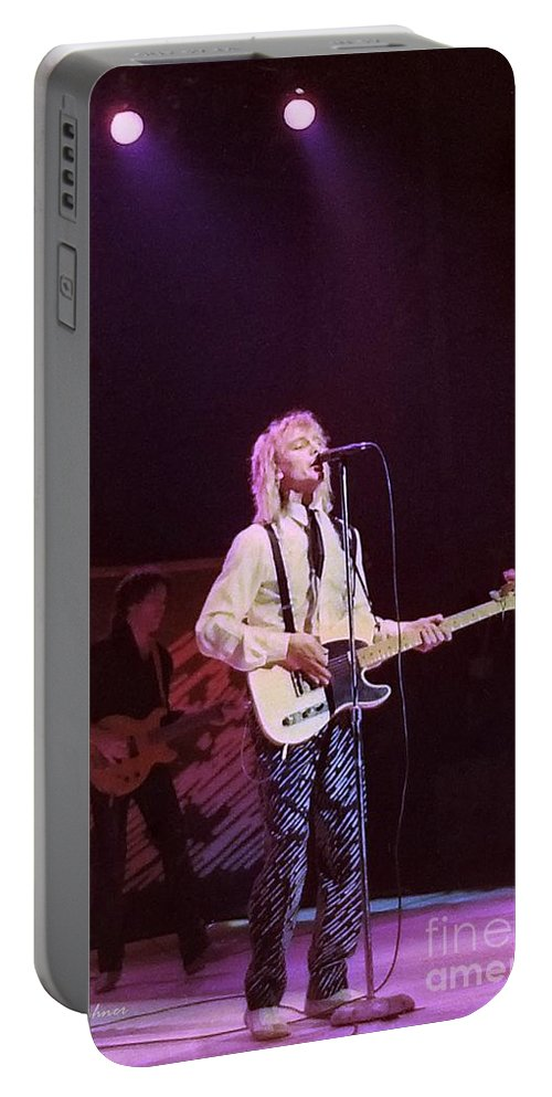 Robin Zander Portable Battery Charger featuring the photograph Cheap Trick 4 by Kevin Bohner