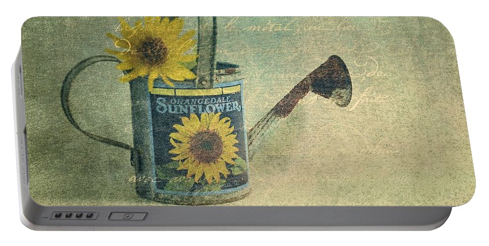 Still Life Portable Battery Charger featuring the photograph Cheerfulness by Jan Amiss Photography