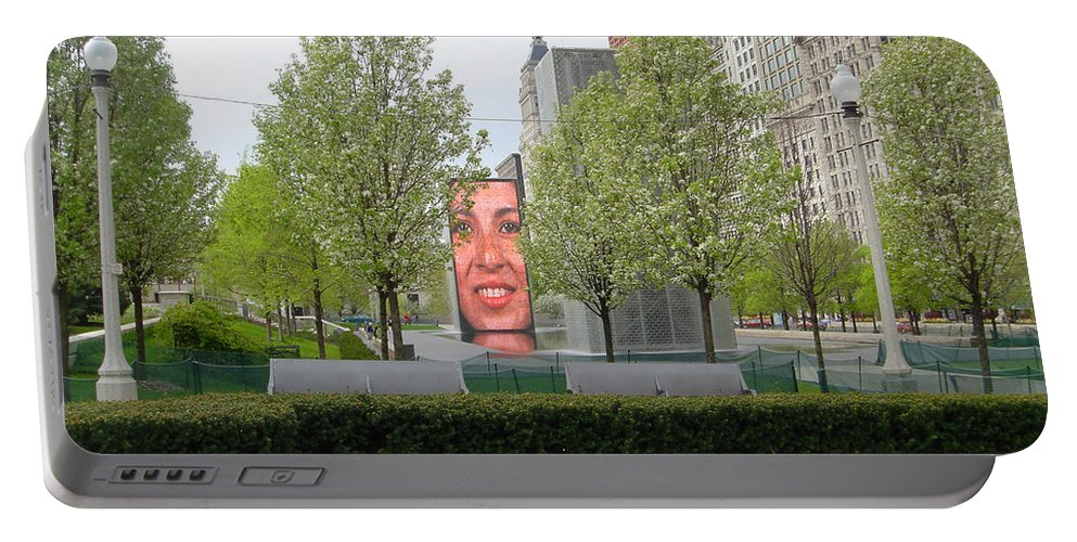 Chicago Portable Battery Charger featuring the photograph Chicago by Jean Macaluso