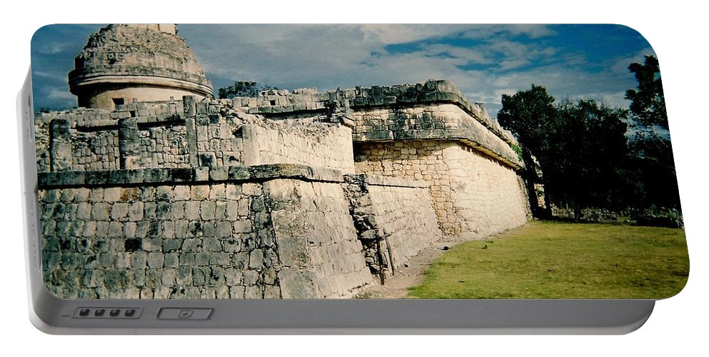 Chitchen Itza Portable Battery Charger featuring the photograph Chichen Itza 1 by Anita Burgermeister