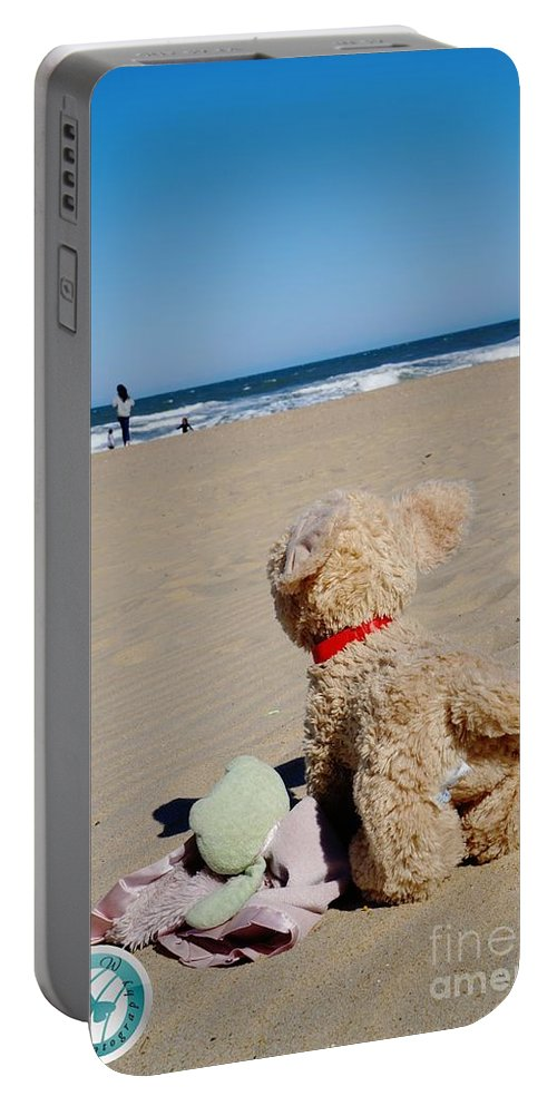 Toys Portable Battery Charger featuring the photograph Childhood Memories by Jannice Walker