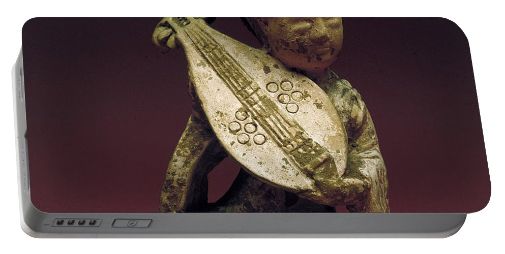 10th Century Portable Battery Charger featuring the photograph China: Musician by Granger