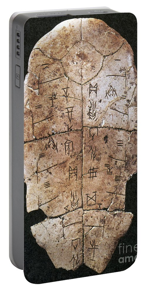 2nd Millennium B.c Portable Battery Charger featuring the photograph China: Oracle Shell by Granger