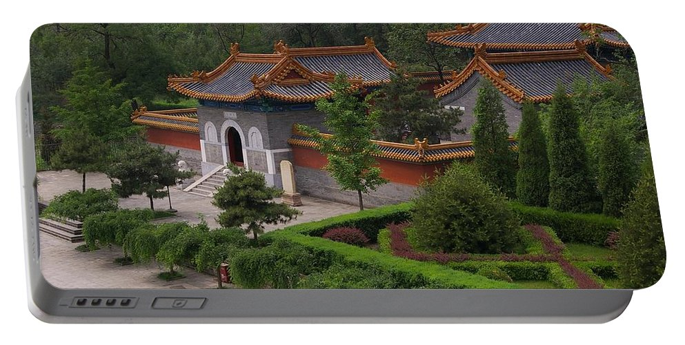 China Portable Battery Charger featuring the photograph Chinese Palace by Tom Reynen
