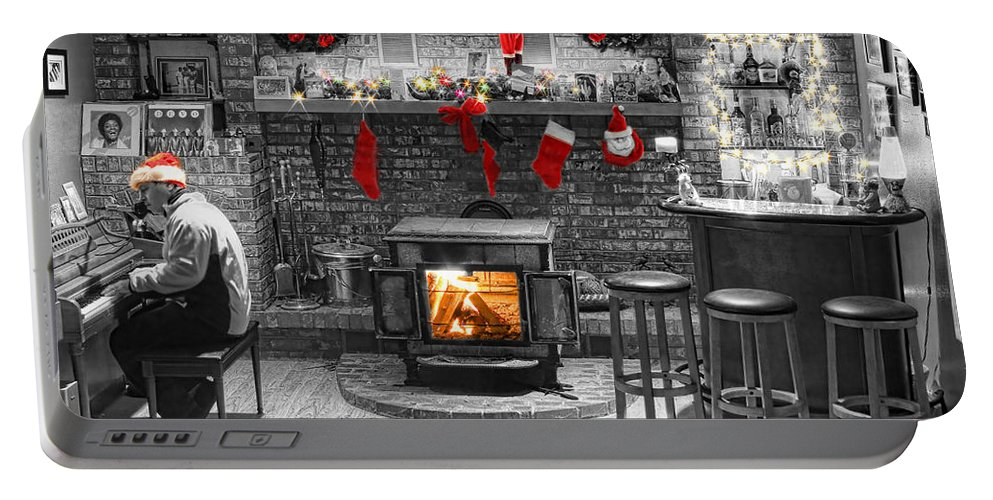 Christmas Portable Battery Charger featuring the photograph Christmas Eve Magic by James BO Insogna