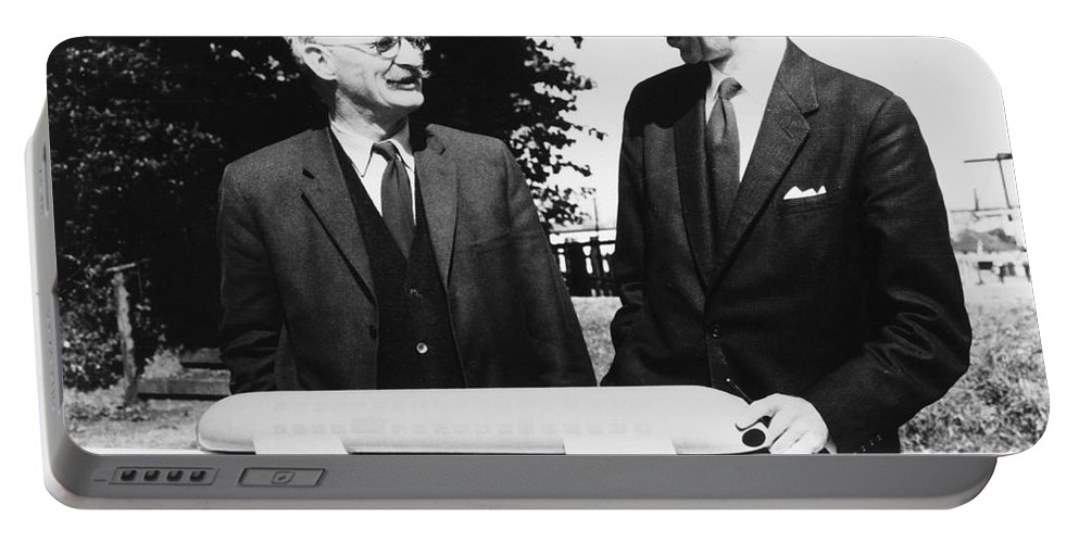 1963 Portable Battery Charger featuring the photograph Christopher Cockerell by Granger