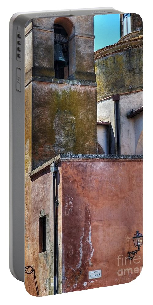Church Portable Battery Charger featuring the photograph Church Detail by Silvia Ganora