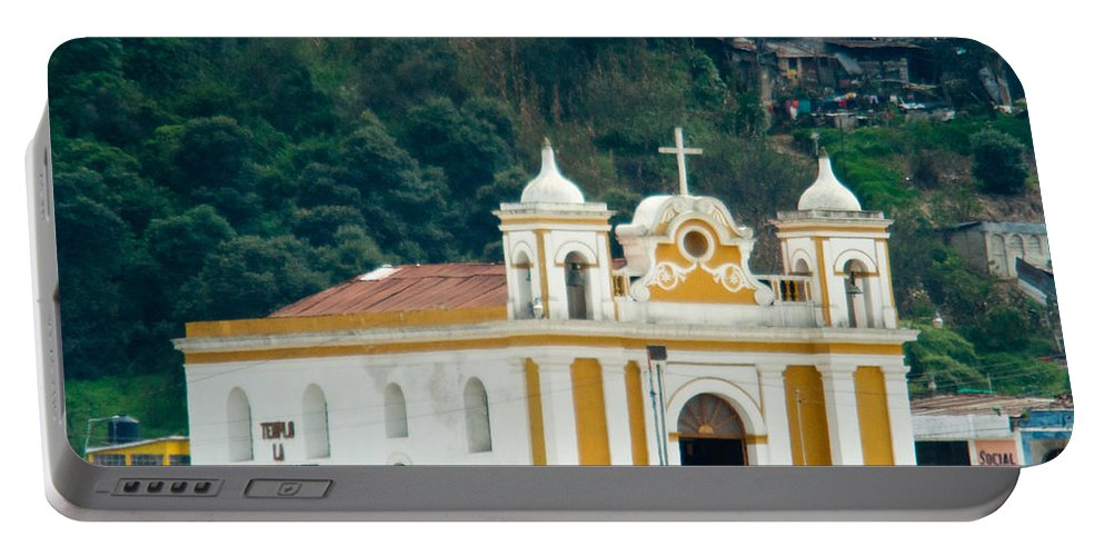 Quetzaltenango Guatemala Portable Battery Charger featuring the photograph Church Of The Transfiguration Quetzaltenango Guatemala 2 by Douglas Barnett