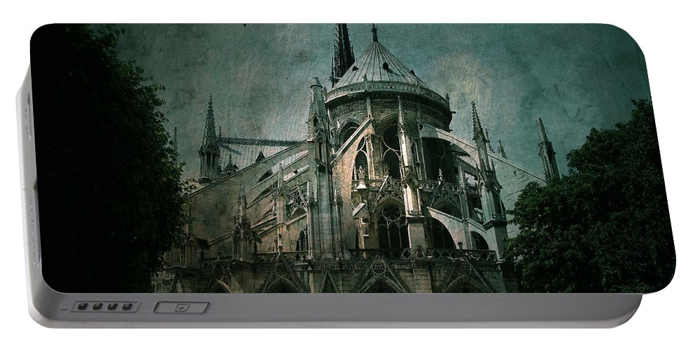 Notre Dame Portable Battery Charger featuring the photograph Citadel by Andrew Paranavitana