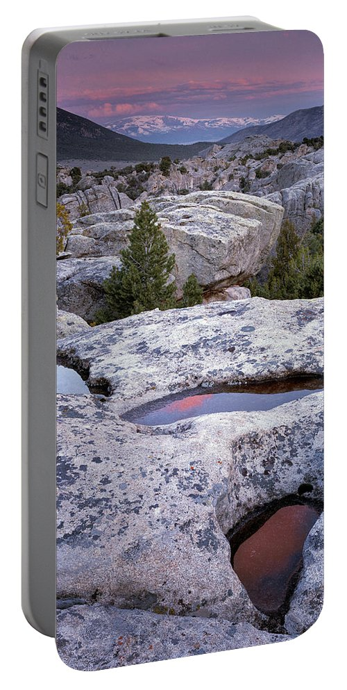 Idaho Scenics Portable Battery Charger featuring the photograph City Of The Rocks by Leland D Howard