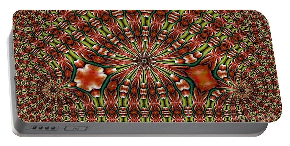 City Portable Battery Charger featuring the digital art City Series by Ron Bissett