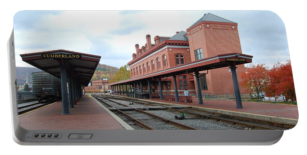 Historic Portable Battery Charger featuring the photograph Cumberland City station by Eric Liller