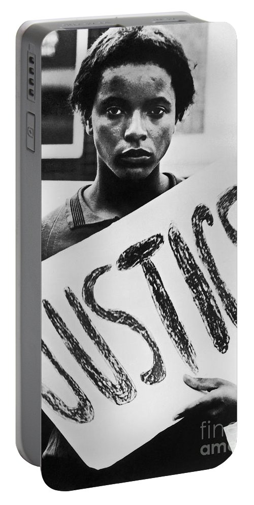 1960s Portable Battery Charger featuring the photograph Civil Rights, 1961 by Granger