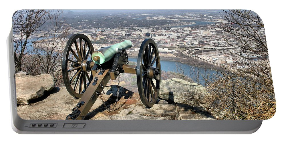 Cannon Portable Battery Charger featuring the photograph Civil War Cannon by Kristin Elmquist