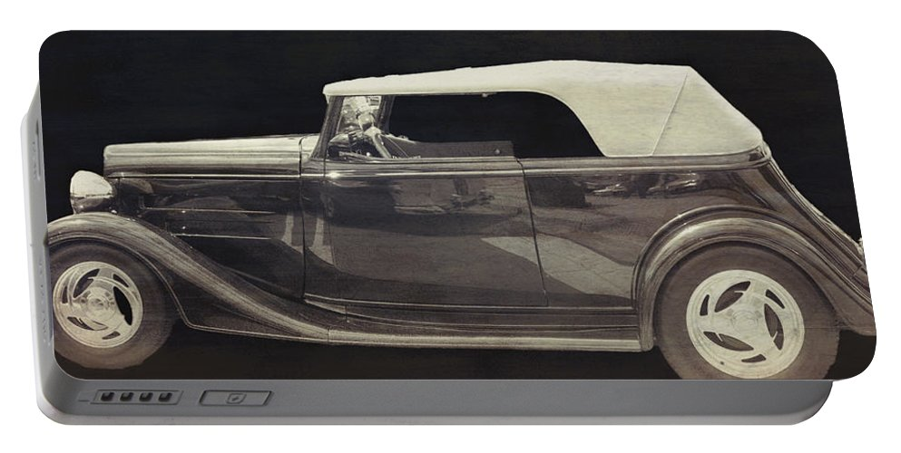 Portable Battery Charger featuring the photograph Classic Car 3 by Cathy Anderson