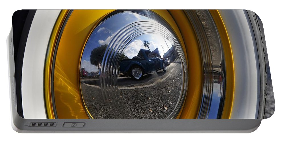Classic Car Portable Battery Charger featuring the photograph Classic Car Show by David Lee Thompson