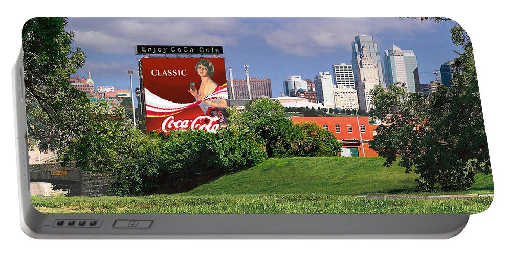 Landscape Portable Battery Charger featuring the photograph Classic Summer by Steve Karol