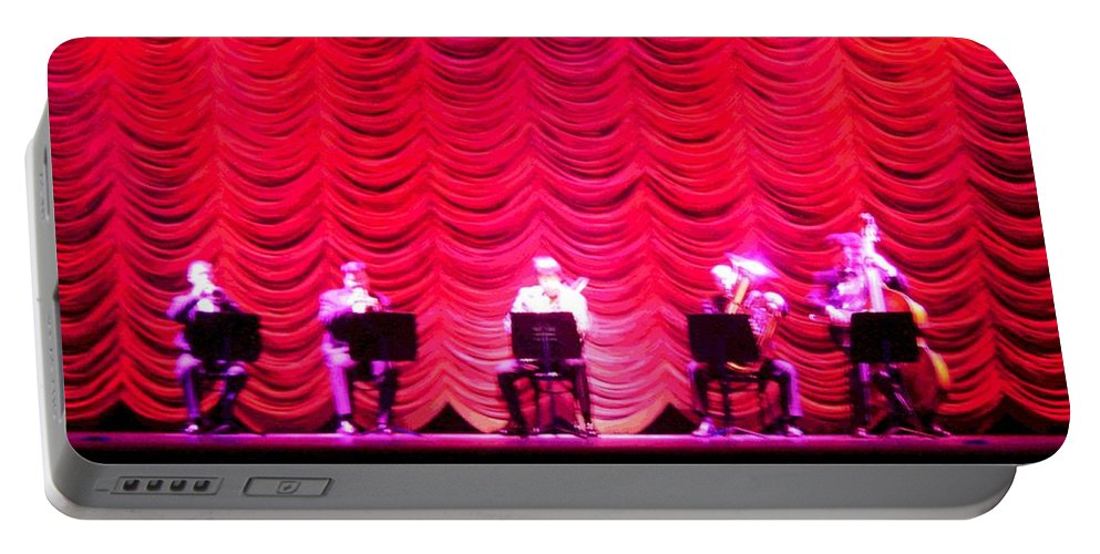 Classical Portable Battery Charger featuring the photograph Classical Quintet by Sherry Oliver