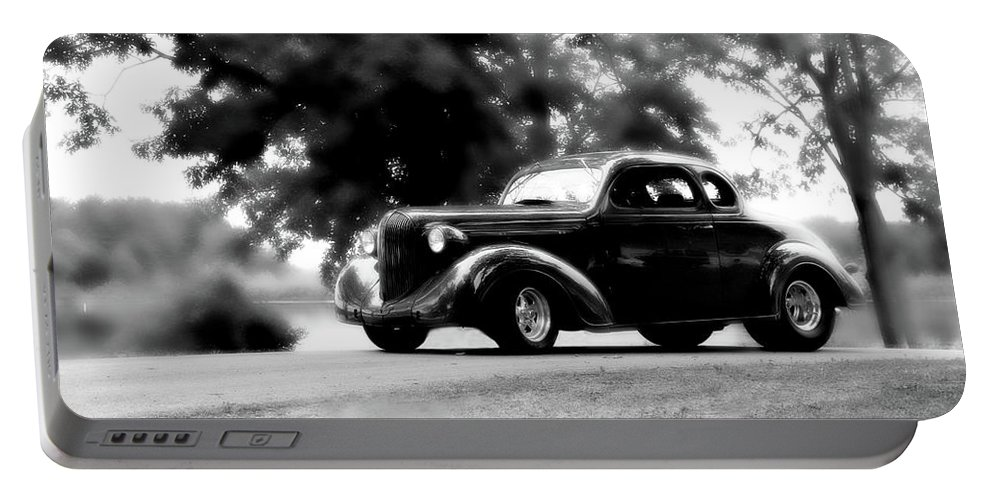Plymouth Portable Battery Charger featuring the photograph Classy by Joel Witmeyer