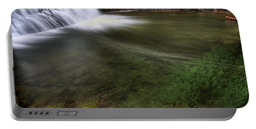 America; Aqua Portable Battery Charger featuring the photograph Clear Waters by Svetlana Sewell