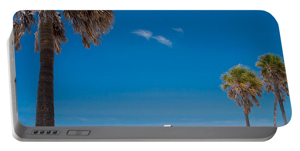 3scape Portable Battery Charger featuring the photograph Clearwater Beach by Adam Romanowicz
