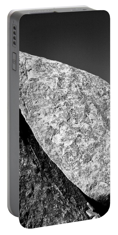 Joshua Tree Portable Battery Charger featuring the photograph Cleft by William Dey