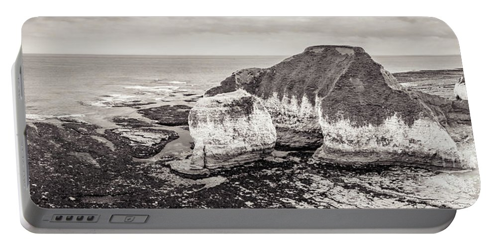 Cliffs Portable Battery Charger featuring the photograph Cliffs by Mariusz Talarek