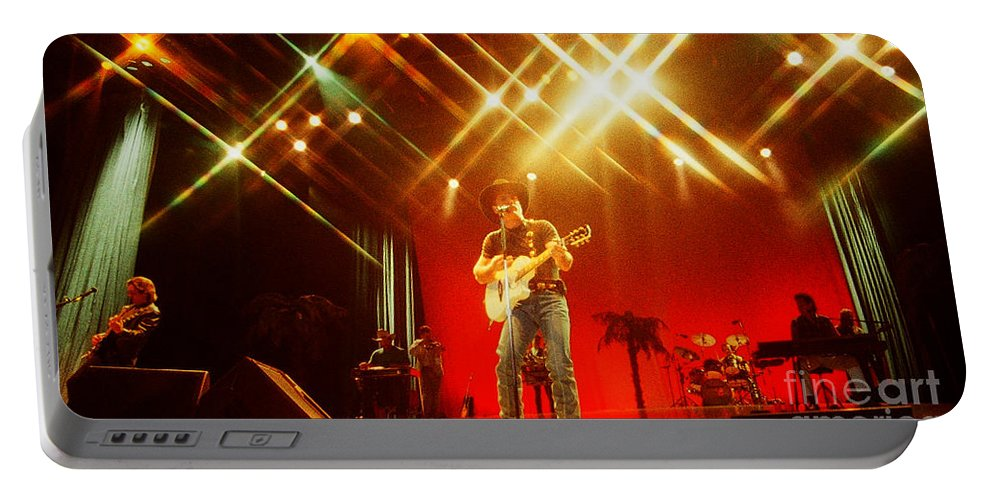Clint Black Portable Battery Charger featuring the photograph Clint Black-0807 by Gary Gingrich Galleries