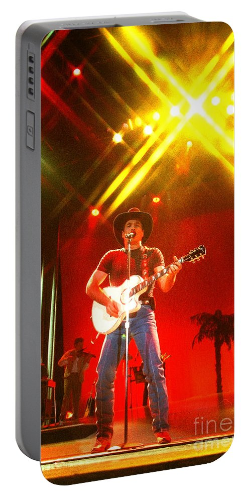 Clint Black Portable Battery Charger featuring the photograph Clint Black-0820 by Gary Gingrich Galleries