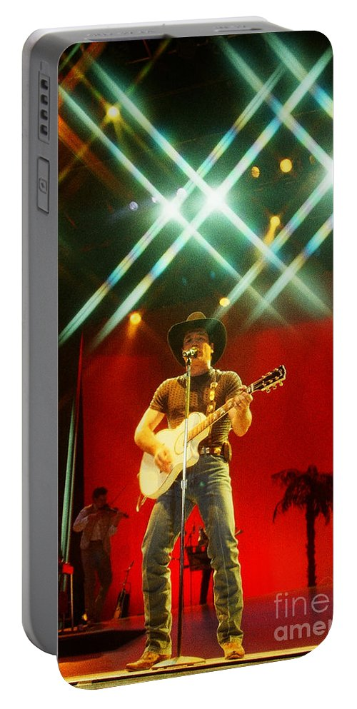 Clint Black Portable Battery Charger featuring the photograph Clint Black-0821 by Gary Gingrich Galleries