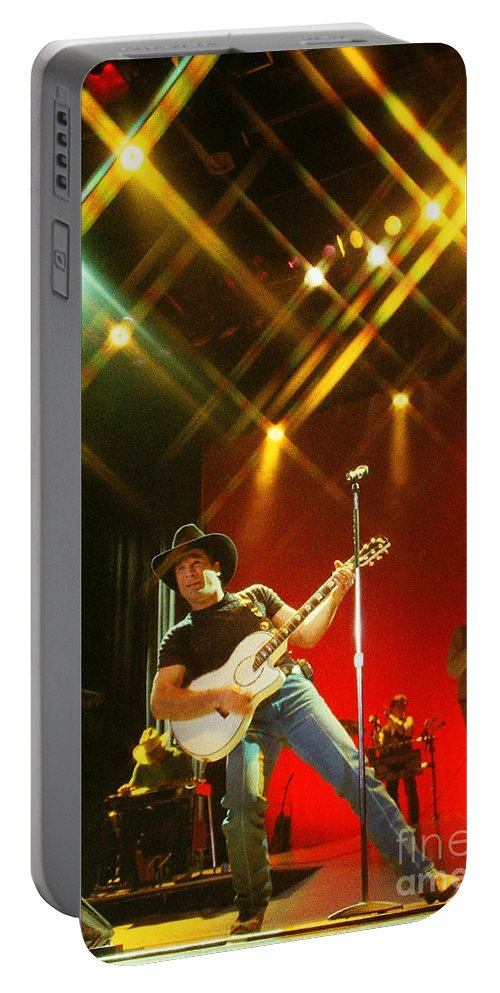 Clint Black Portable Battery Charger featuring the photograph Clint Black-0824 by Gary Gingrich Galleries