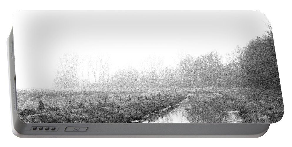 Nuclear Portable Battery Charger featuring the photograph Closed Zone by Steve K
