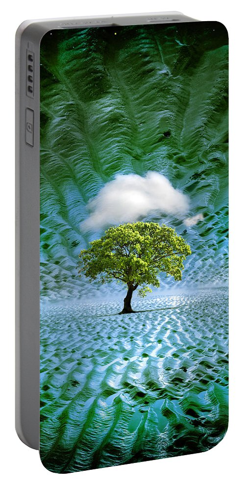 Cloud Portable Battery Charger featuring the photograph Cloud Cover Recurring by Mal Bray