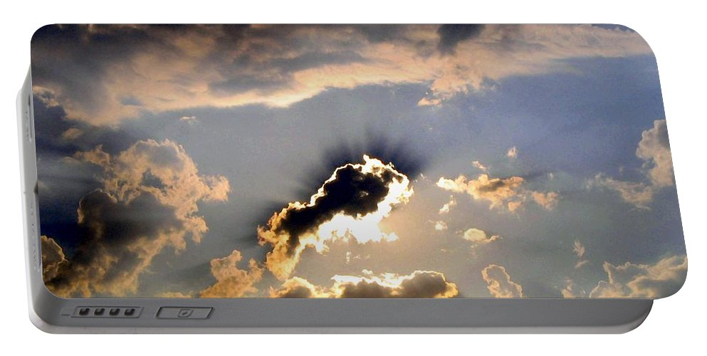 Sky Portable Battery Charger featuring the photograph Cloud Nine 4 by Will Borden