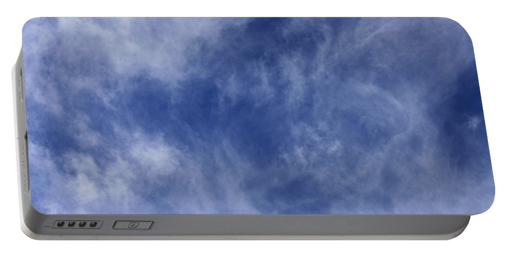 Cloud.sky Portable Battery Charger featuring the photograph Clouds 4 by Teresa Mucha