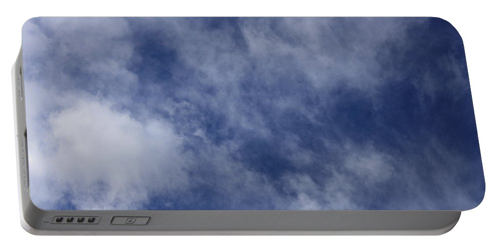 Cloud.sky Portable Battery Charger featuring the photograph Clouds 5 by Teresa Mucha