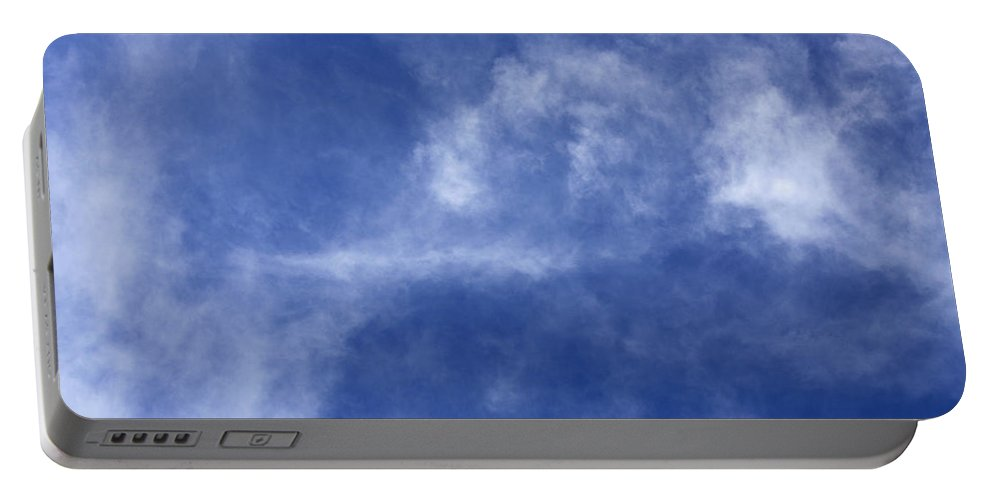 Cloud.sky Portable Battery Charger featuring the photograph Clouds 7 by Teresa Mucha