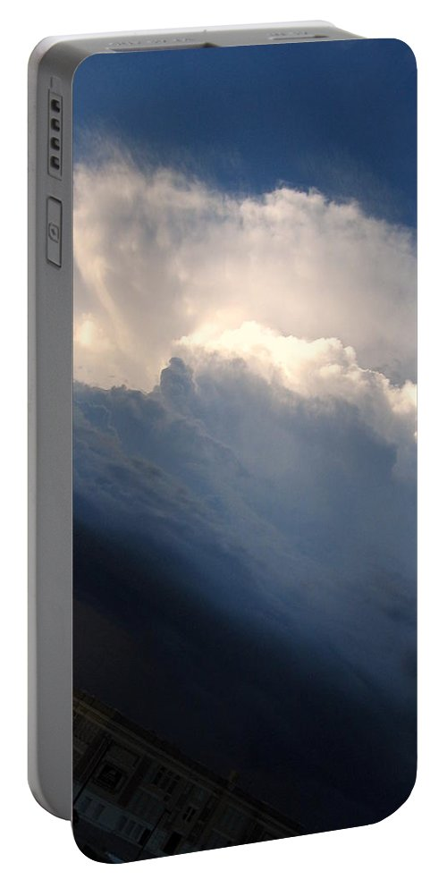 Clouds Portable Battery Charger featuring the photograph Clouds by Amy Hosp
