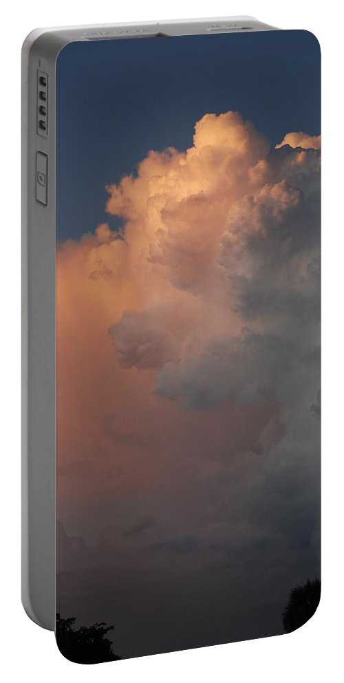 Clouds Portable Battery Charger featuring the photograph Clouds And More Clouds by Rob Hans