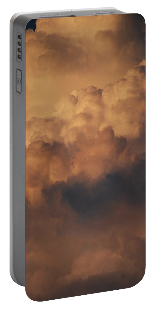 Clouds Portable Battery Charger featuring the photograph Clouds In Color by Rob Hans