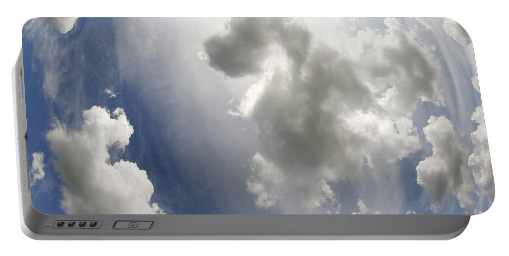 Fanciful Portable Battery Charger featuring the photograph Clouds On The Sky by Michal Boubin